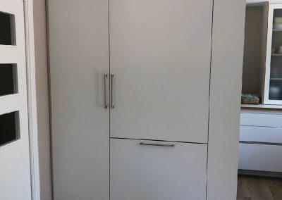 Cocina contrachapado abedul, laminado blanco 03
