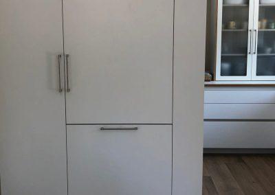 Cocina contrachapado abedul, laminado blanco 06