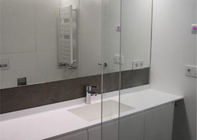Mueble de baño, lacado en blanco casino-07